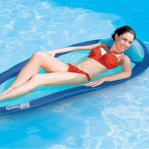 SwimWays Spring Float Graphic Prints - Seahorse
